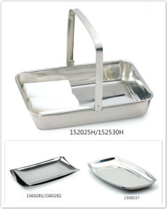 Stainless Steel Towel Tray for Hotel & Restaurant (150815T) pictures & photos