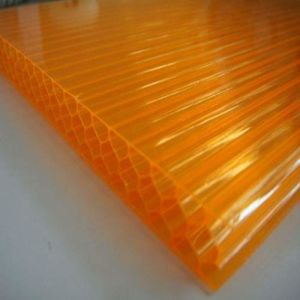 UV Blocking 6mm Ge Lexan Bayer Honeycomb Polycarbonate Sheet pictures & photos