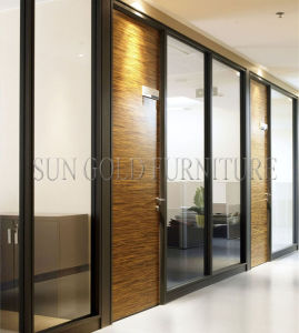 Luxury Black Frame Types Glass Hotel Office Room Dividers (SZ-WS572) pictures & photos