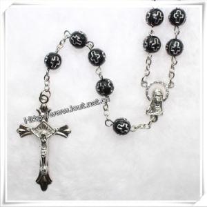 Plastic Cross Beads Rosary, Plastic Rosary (IO-cr028) pictures & photos