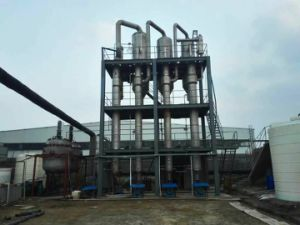 Tri-Effect Forced Circulation Evaporator for Dye Wastewater