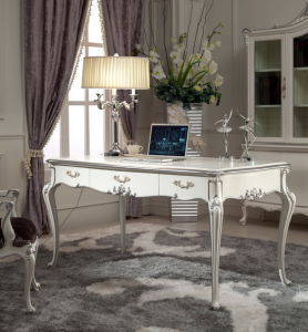 Classical Wooden Bedroom Furniture Writing Table