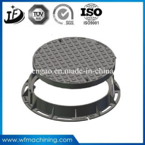 Sand Casting Factory Ductitle Iron Manhole Cover for Drainage System pictures & photos