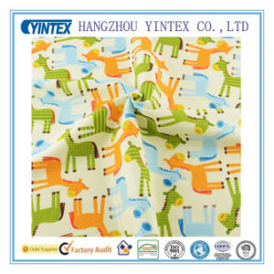 Soft and Antibacterial Cartoon Printed Cotton Fabric for Baby Bedding pictures & photos