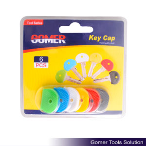 6PCS Various Colored Rubber Cheap Key Cap (T11468)