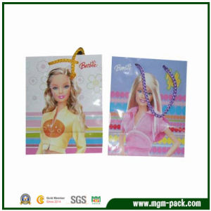 Lovely Colorful Patterned Paper Gift Bag for Kids pictures & photos