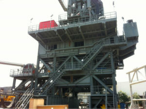 Steel Frame Structure Project on Rig Platform