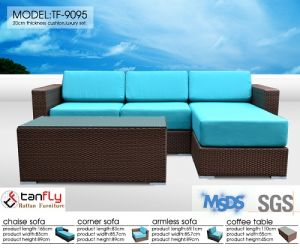 Outdoor Furniture Rattan Sofa Set pictures & photos