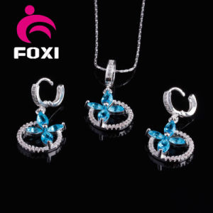 2016 Wholesale Fashion Copper Silver Plated Jewelry Sets pictures & photos