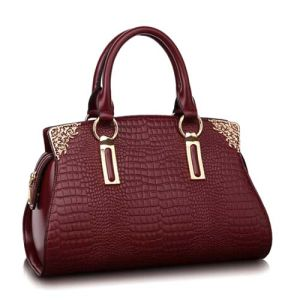 Fashion Bag Classic Leather Handbag Crocodile Designer Hand Bag (XZ174) pictures & photos