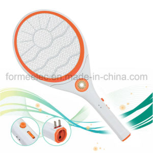 Electric Mosquito Swatter Y35 Rechargeable with LED Light pictures & photos