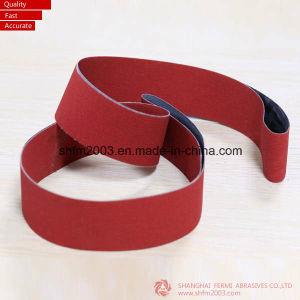 50*2100mm, P120, Ceramic, Zirconia and Aluminum Oxide Abrasive Sanding Belt pictures & photos