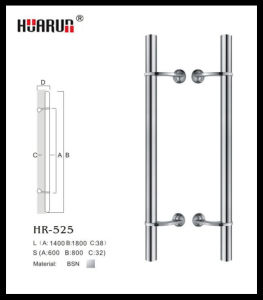 stainless steel new style shower screen glass door handle(HR-525) pictures & photos