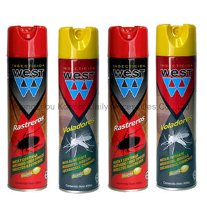 Eco-Friendly 400ml West Insecticide Aerosol Spray in Pest Control pictures & photos