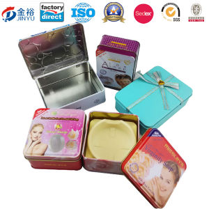 Square Tin Soap Tin Box for Soap Packaging pictures & photos