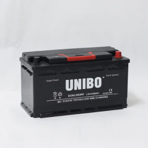 Maintenance Free DIN100 12V100ah, High Quality, Mf Auto, Car Battery pictures & photos