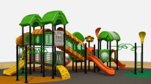 High Quality Large Plastic Playground Equipment in Community and School pictures & photos
