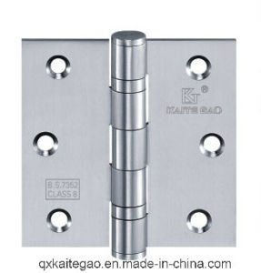 "Stainless Steel Door Hinge for Wooden Door (3.5""X3.5""X3.0mm-2BB) pictures & photos"