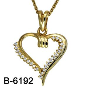 New Design Fashion Jewelry 925 Sterling Silver Pendant Necklace pictures & photos