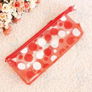 Custom New Design PVC Material Zippper Pen Bag for Student pictures & photos