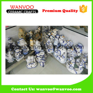 Custom Handpaint Ceramic Figurine for Home Ornament pictures & photos