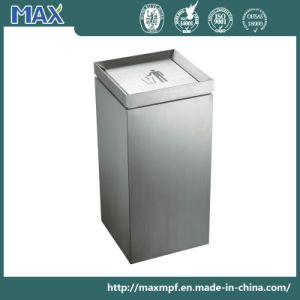 Stainless Steel Square Recycling Waste Bin pictures & photos