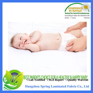 Healthy Baby Ideas Premium Bamboo Viscose Crib Mattress Pad Waterproof pictures & photos