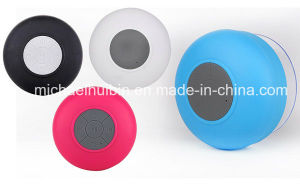 Promotion Gift Bathroom Waterproof Sucker Music Bluetooth Wireless Speaker (BS-030) pictures & photos
