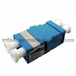 LC/APC Singlemode Duplex Fiber Optic Adapter pictures & photos