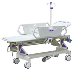 Emergency Bed Hospital Bed Stretcher (YQC-2R) pictures & photos
