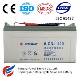 12V 120ah Solar Wind Energy Storage AGM Battery