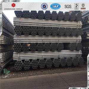 China Wholesale High Quality Q235 ERW Welded Steel Pipe Sizes pictures & photos