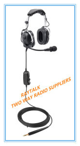 Airport Ground Noise Cancelling Headphones with Microphone pictures & photos