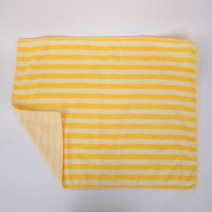 Yellow Stripes, Ultra-Fine Fiber Cleaning Cloth, Multicolor, Customization pictures & photos