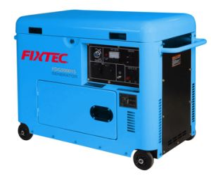 Fixtec Power Tools 4.4kw Electric Generator Diesel pictures & photos