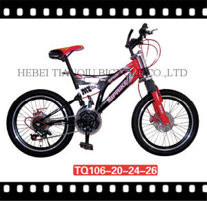 "26"" Ce Passed Double Suspension MTB pictures & photos"