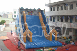 Titanic Slide Bouncy Castle Inflatable Toboggan Slide (CHSL341-L) pictures & photos