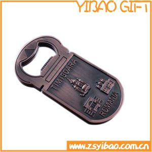 Zinc Alloy Metal Bottle Opener with Brass Plated (YB-r-002) pictures & photos