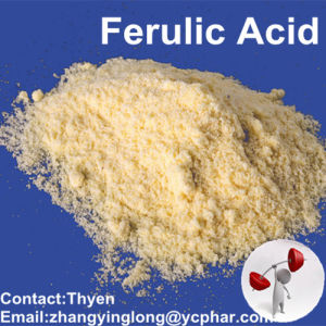 Factory Supply Natural Ferulic Acid with Competitive Price (1135-24-6) pictures & photos