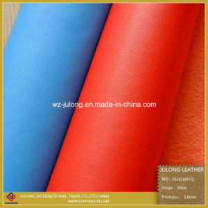 1.6mm Thick Furniture Bonded PU Leather for Shoes (S020) pictures & photos