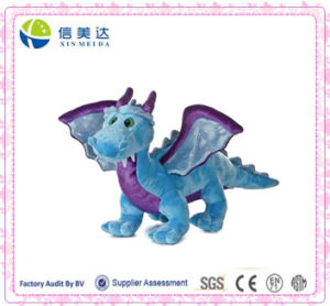 Realistic Styling Blue Dragon with Sound Plush Electronic Toys pictures & photos