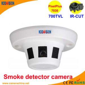 CMOS 700tvl Smoke Detector Dusguised Miniature Camera pictures & photos