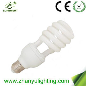 Zhanyu T4 23W Half Spiral CFL Bulbs with Saso pictures & photos