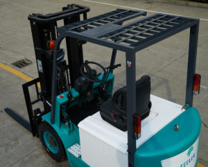 (3.5ton) Four-Wheel Electric Forklift with CE Certificate pictures & photos