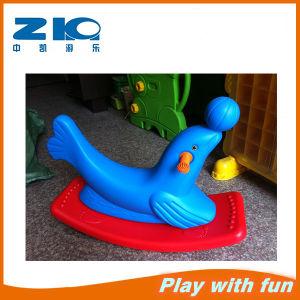 Kids Sea Lion Plastic Rocking Horse for Kindergarten pictures & photos