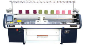 High Performance Flat Knitter with 1+1 Single System