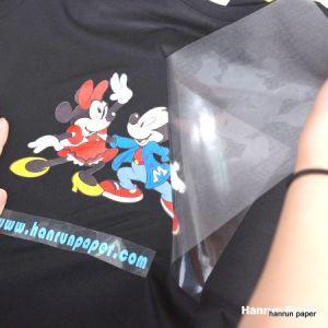 Dark Printable Eco Solvent Heat Transfer PU White Vinyl/Paper for Dark Garment/Sportswear pictures & photos