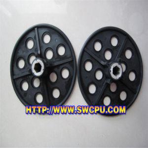 Customized Non Spill Cap Fastener Plastic Filter Net (SWCPU-P-F2371) pictures & photos