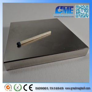 Strong 120X120X20mm N52 Permanent Block Magnet pictures & photos