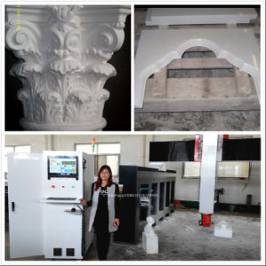 5 Axis Stone Mould Sculpture CNC Router Machine pictures & photos